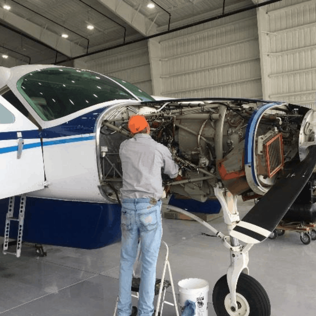 maintenance at shawnee oklahoma airport